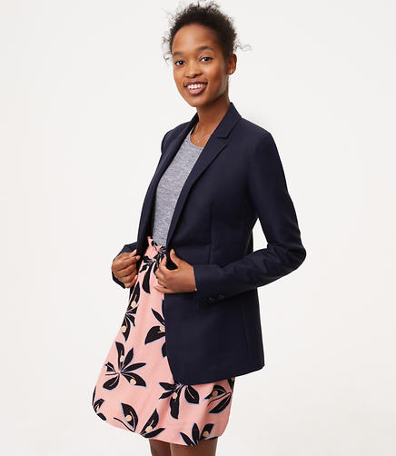 Image of Flared Back Blazer