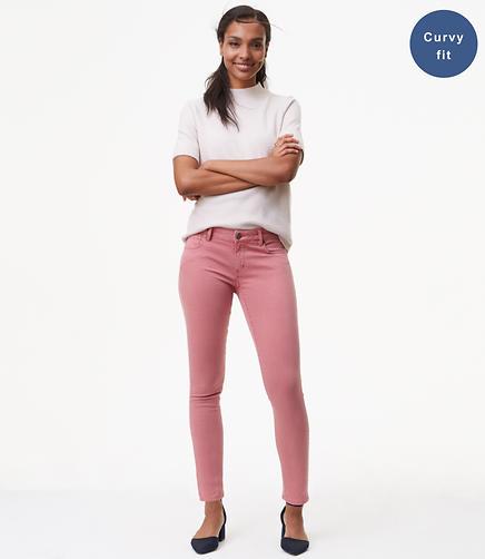 Petite Curvy Skinny Jeans