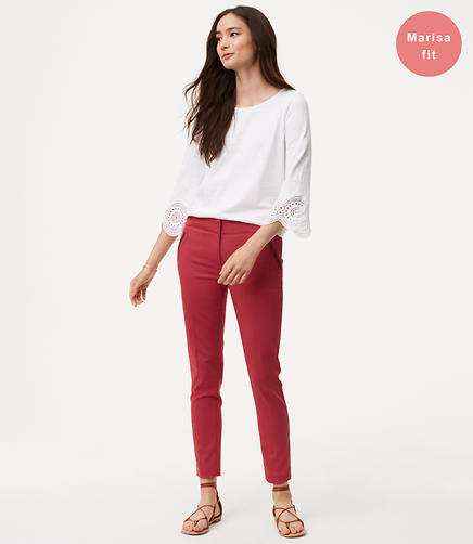 Skinny Zip Pocket Pants in Marisa Fit