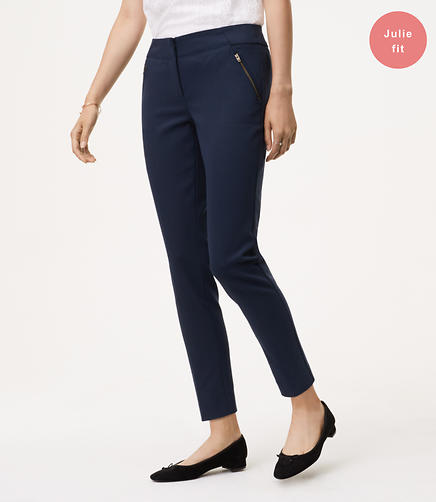 Skinny Zip Pocket Pants in Julie Fit