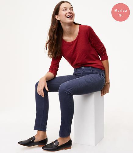 Image of Petite Skinny Corduroy Pants in Modern