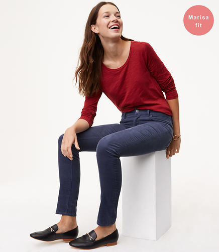 Petite Modern Skinny Corduroy Pants