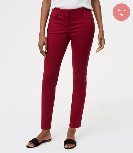 Skinny Sanded Sateen Chinos in Julie Fit