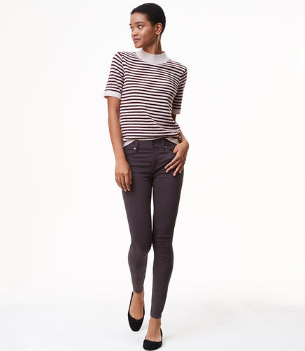 Petite Leggings in Sateen Five Pocket in Marisa Fit