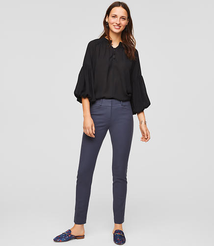Image of Petite Skinny Bi-Stretch Ankle Pants in Marisa Fit