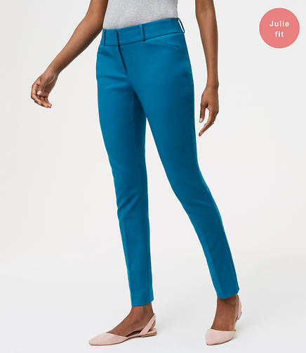 Image of Petite Skinny Bi-Stretch Ankle Pants in Julie Fit