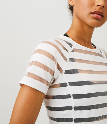 Lou & Grey FORM Shadow Stripe Tee - High Impact