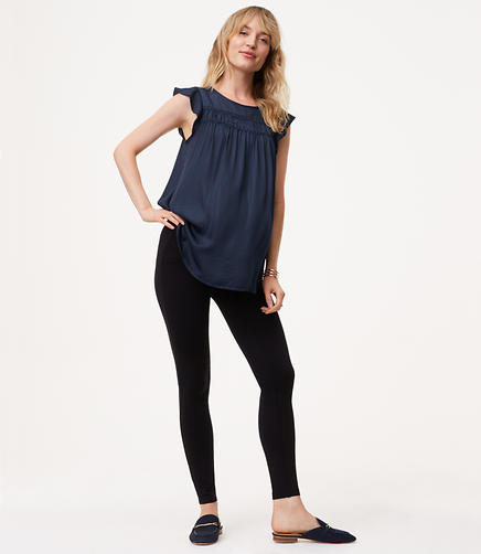 Maternity Seamed Ponte Leggings