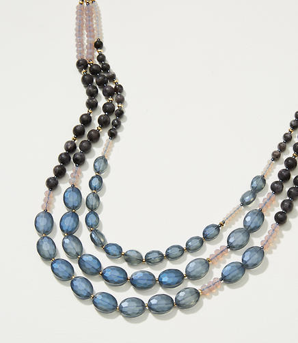 Image of Multistrand Bead Necklace