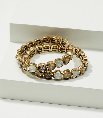 Stretch Stone Bracelet Set