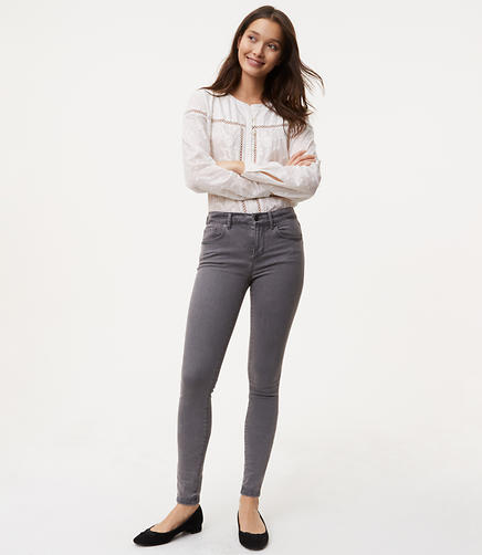 Image of Petite Denim Leggings in Washed Black