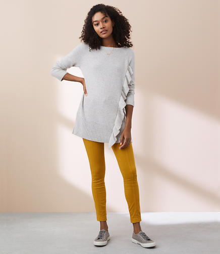 Lou & Grey Ruffle Tunic Sweater