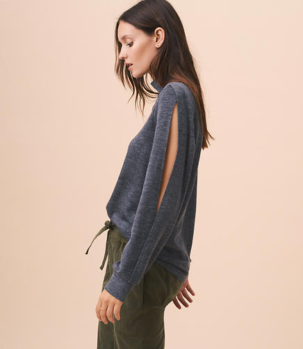 Image of Lou & Grey Zen Bounce Split Sleeve Top
