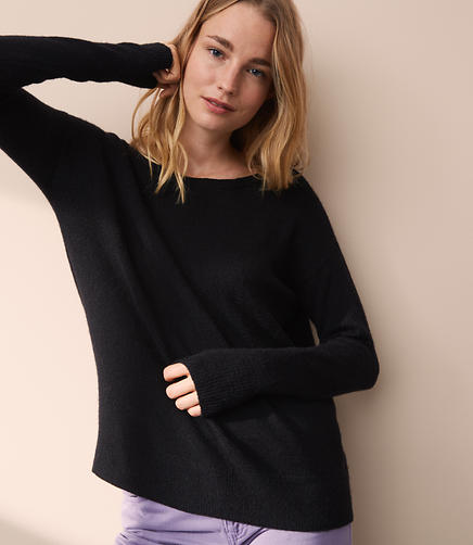 Lou & Grey Bar Back Sweater