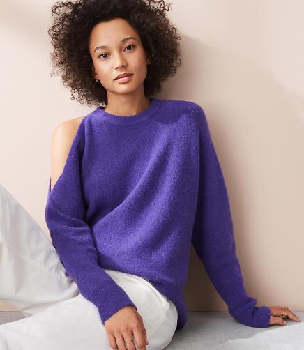 Lou & Grey Shouldercut Sweater