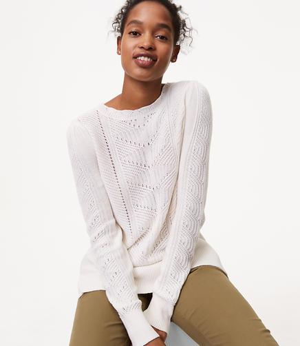 Image of Mixed Chevron Sweater