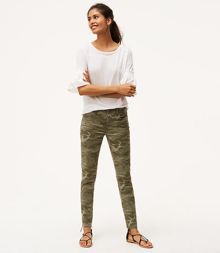 Image of Camo Skinny Pants