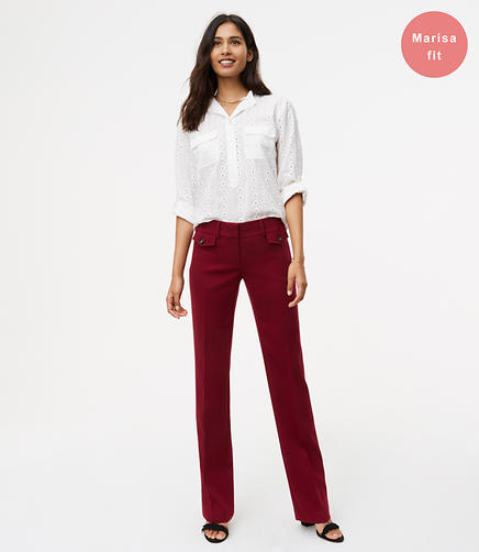 Tall Trousers with Button Pockets in Marisa Fit