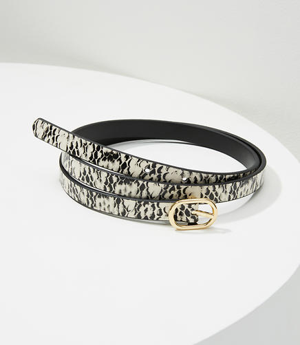 Embossed Reversible Belt