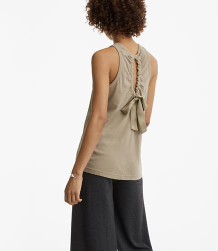 Image of Lou & Grey Softserve Cotton Tie Back Tank