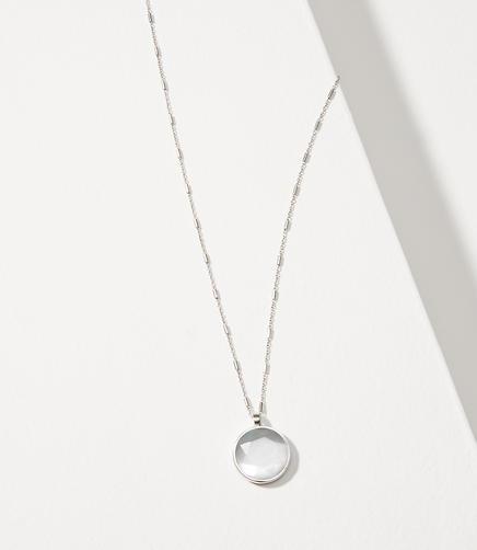 Reversible Shimmer Pendant