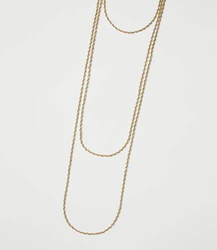 Twist Layered Necklace
