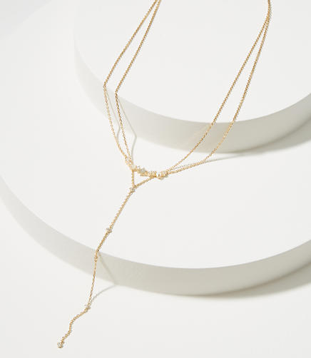 Delicate Cluster Layered Necklace