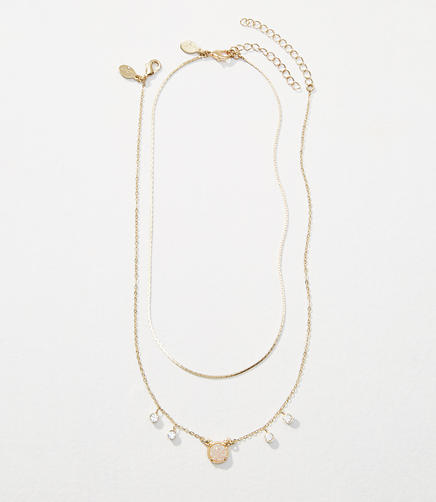 Chain Choker Layering Necklace Set