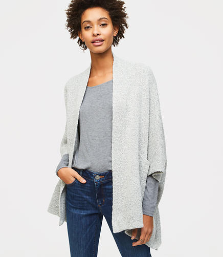Knit Dolman Wrap