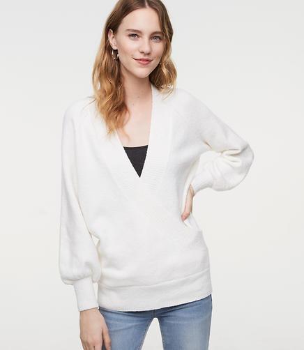 Wrap Tunic Sweater