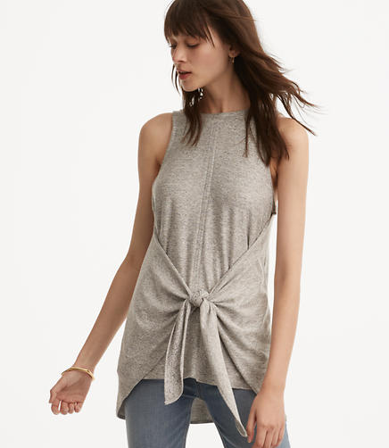 Image of Lou & Grey Marlknit Tiefront Tank