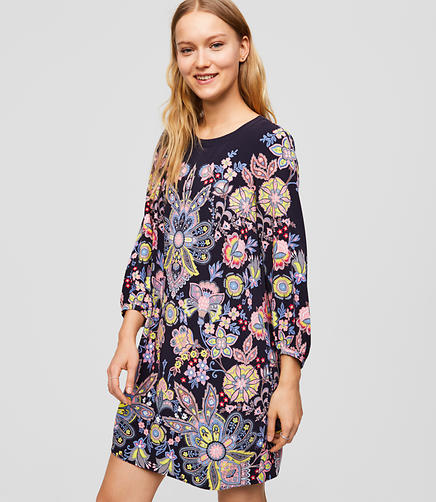 Botanical Dream Shift Dress