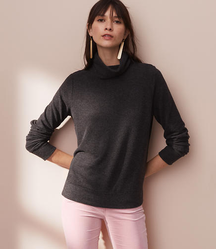 Lou & Grey Fab Cozy Turtleneck
