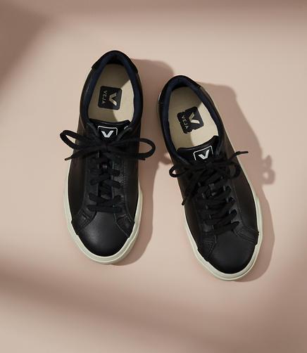 Veja Esplar Leather Black