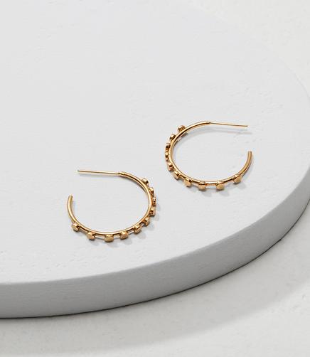 Image of 31 Bits Samba Hoop Earrings