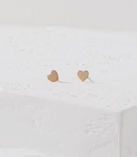 Kris Nations Heart Stud Earrings