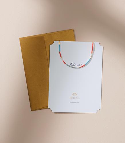 Kui Co. Samansa Bracelet Jewelry Card
