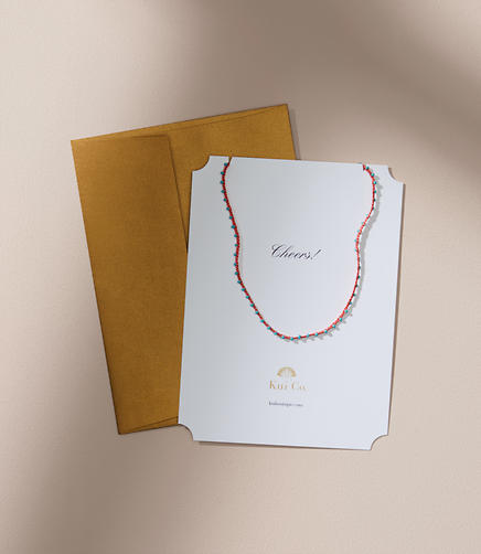 Kui Co. Fusea Necklace Jewelry Card