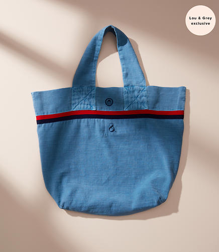 Sundry Striped Tote Bag