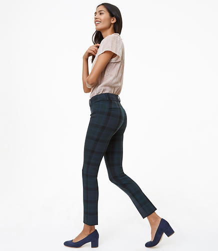 Skinny Plaid Pants in Marisa Fit