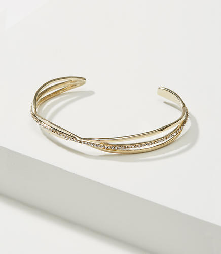 Image of Pave Twist Cuff