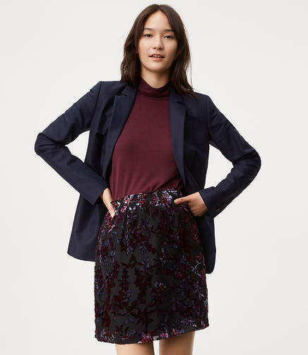 Image of Velvet Vine Skirt