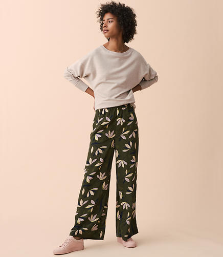 Lou & Grey Blume Wide Leg Pants