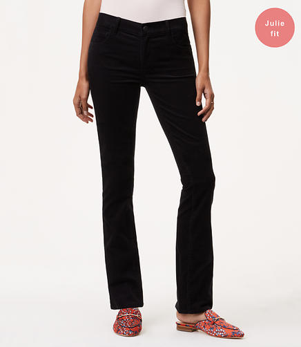 Image of Petite Curvy Bootcut Corduroy Pants