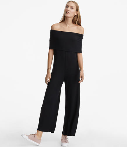 Image of Lou & Grey Signaturesoft Off The Shoulder Jumpsuit