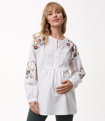 Maternity Garden Gate Shirt