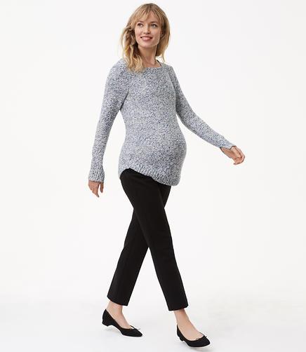 Petite Maternity Slim Pants