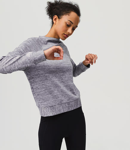 Lou & Grey FORM Funnelneck Sweatshirt - Anytime