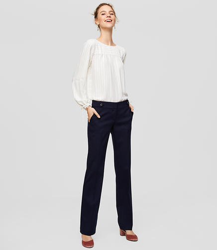 Trousers in Button Tab in Marisa Fit