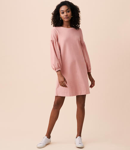 Petite Lou & Grey Blouson Sweatshirt Dress
